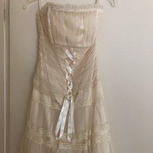 Jessica McClintock lace special  occasion dress